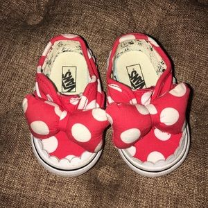 Minnie Mouse Disney Vans